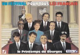 Affiche Printemps de Bourges 88