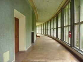 couloir courbe