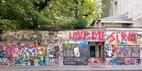 Maison de Gainsbourg, rue de Verneuil à Paris