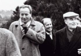 Gérard Colé et Mitterrand