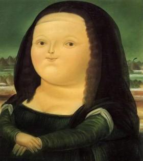 La Joconde, revue et corrigée par Botero