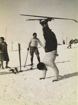 Le ski version Stan (en 1926)