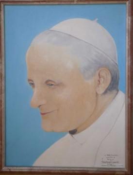 Jean-Paul II par le peintre Stanislas de Lipowski
