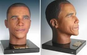 Nouveau, l'urne issue d'une imprimante 3D, ici un présidentiel