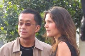 Renaud Le Van Kim et Virginie Ledoyen (Cannes 2004)