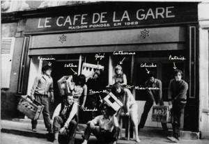Le premier Café de la Gare créé par Romain Bouteille. Repris par Coluche, il deviendra le Vrai Chic Parisien.