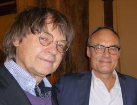Cabu et Philippe en 2013