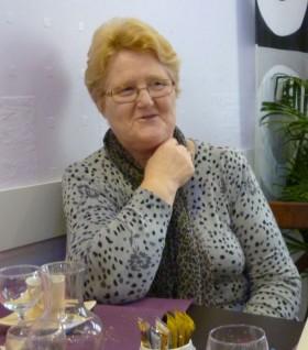 La dame au téléphone (Micheline Fourmond)
