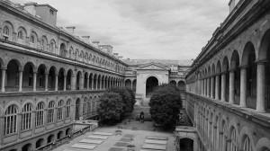 Hôtel-Dieu, cour centrale