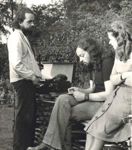 Jacques Vassal ici en compagnie d'Alan et de Marie-Jo Stivell (photo A. Leauté)