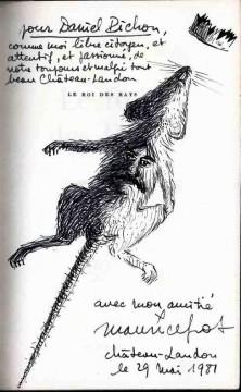 Le Roi des rats dedicace
