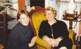 Catherine de Lipowski en compagnie de ma mère.