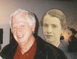 Georges Messart, et sa maman alors qu'elle avait 20 ans.