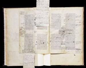 Manuscrit A la recherche du temps perdu