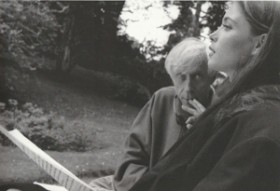 Michel Deville, Emmanuelle Béart, photo Martine Voyeux