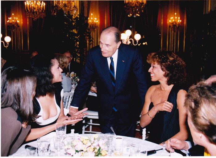 """Béatrice Soulé, Viktor Lazlo, le Président, Marijosé Alie et caché, mon crâne de """"chauve-petite-souris"""""""