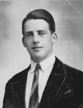 Stanislas de Lipowski à 20 ans