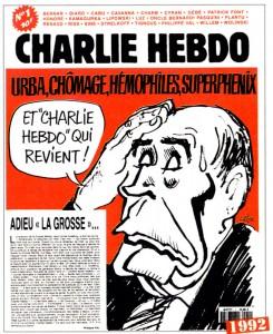 Couverture historique du numéro 1 du Charlie Hebdo 2.0