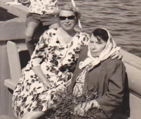 Ma mère et sa mère