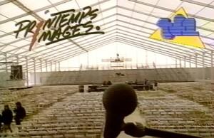 Image extraite d'un documentaire sur le Printemps de Bourges 1988