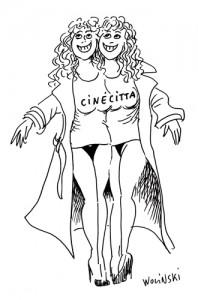 Une pub pour le magasin Cinecitta (1994)
